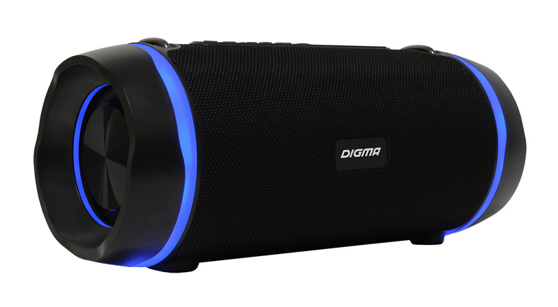Колонка порт. Digma S-39 черный 25W 1.0 BT/USB 3000mAh (SP3925B)